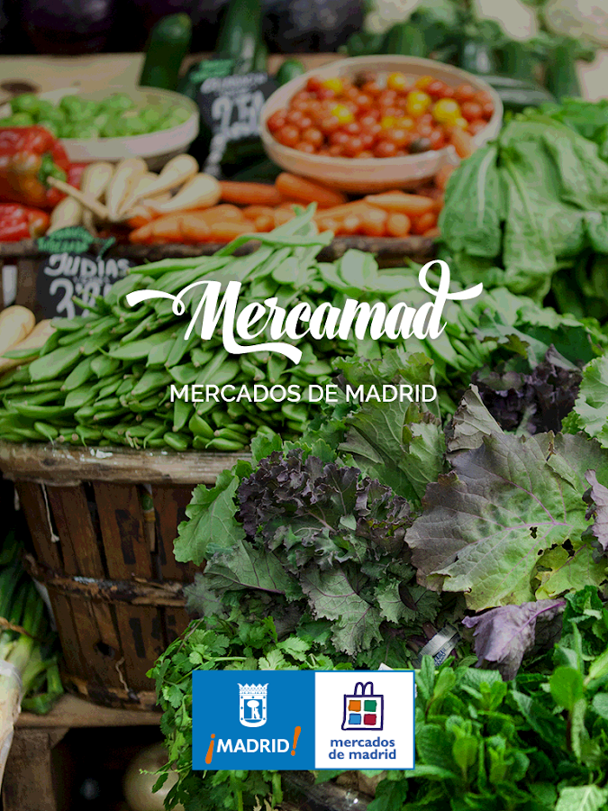 Mercamad - Madrid Markets- screenshot