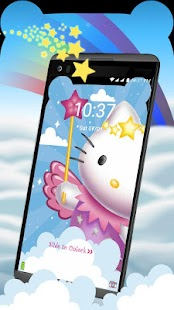Custom Norch Ears Kitty launcher Theme - náhled
