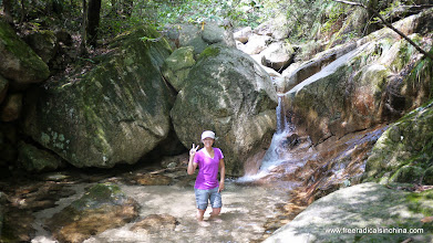 Photo: Found a mountain stream to cool off in