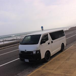 ハイエースバン GDH201V SUPER- GLのカスタム事例画像  箱バン☆200(KDH200V)さんの2018年08月24日09:09の投稿