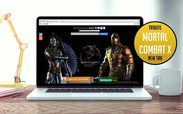 Mortal Kombat X  Tab Theme