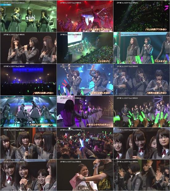 (TV-Music)(480p) 欅坂46 Part – ZIP!春フェス2017 DAY2 170926