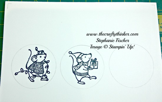 Stampin' Up, #thecraftythinker, Christmas Card, Merry Mice, Xmas, Stampin Up Australia Demonstrator, NSW