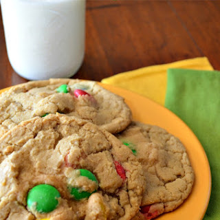 M & M Mega Cookies by Chef Caleb