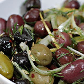 Marinated Olives Hot Peppers Recipes
