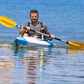Kayak Time by Robert George - Sports & Fitness Watersports (  )