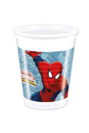 Spiderman Mugg, 8st.