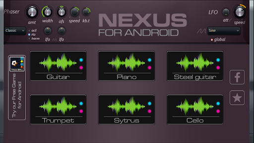 Nexus keyboard: virtual piano 1.0.1 screenshots 2