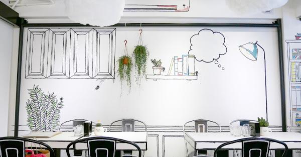 史蒂芬斯咖哩專門店 韓風黑白漫畫餐廳裡吃雲朵炒飯|附菜單MENU