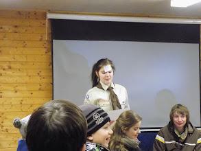 Photo: Klarysa nám vysvětla pravidla hry.