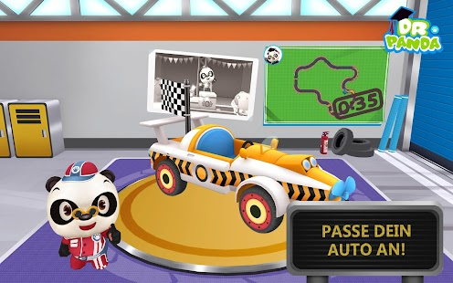 Dr. Panda Racers Screenshot