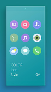 Download LITTLE™ XPERIA Theme | A CYAN  apk screenshot 7