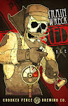 Logo of Crooked Fence Trainwreck Red Ale