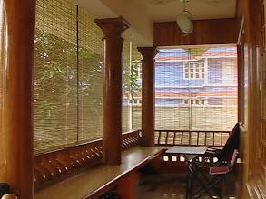 Photo: Uravu Bamboo Blinds at a house in Kalpetta