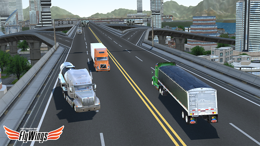 android Truck Simulator 2016 Free Game Screenshot 4