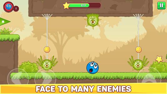 Bounce Ball 5 - Jump Ball Hero Adventure 3.5