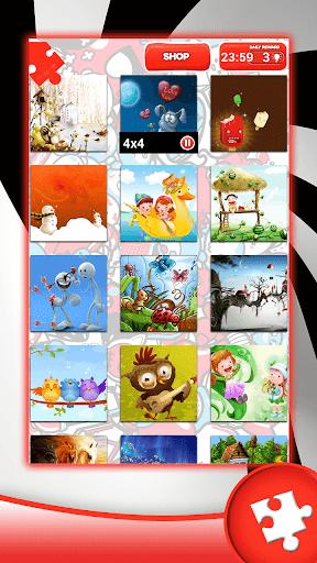 Cartoon Jigsaw Puzzles 1.4 screenshots 1