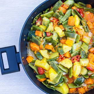 One-Skillet Mixed Vegetables