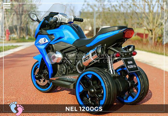 Moto điện 3 bánh cho bé NEL-1200GS 17