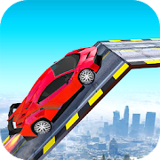 US GT Car Air Stunt 3D