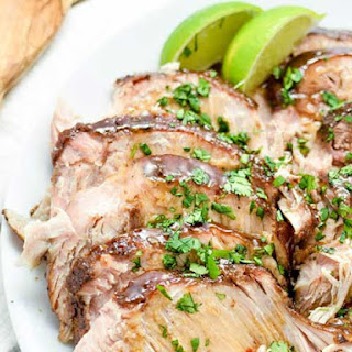 Asian Slow Cooker New York Pork Roast