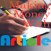 Making Money With Articles