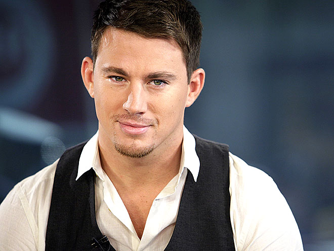 Photo: Just a sexy photo of Channing Tatum, one of our favorite guys! http://www.people.com/people/channing_tatum/photos/0,,,00.html#21150118