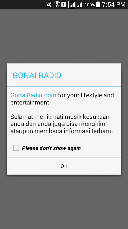 Gonai Radio- screenshot