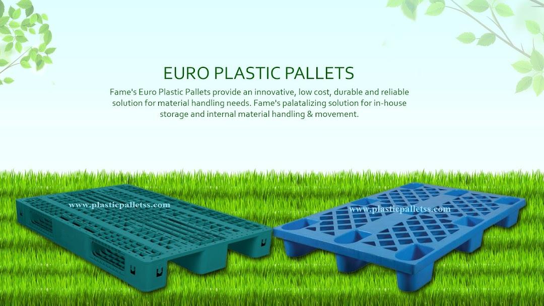 Plastic pallet - Pallet Supplier in Okhla