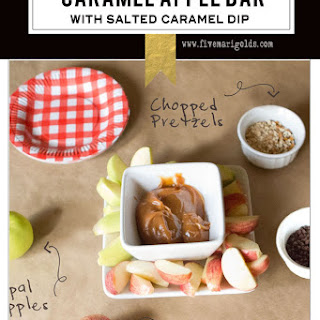 Salted Caramel Apple Bar