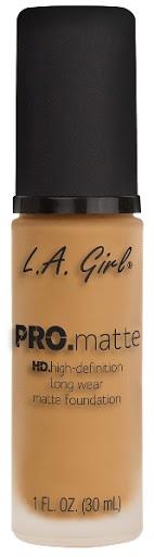 Bases La Girl Pro Matte 676 Light Tan