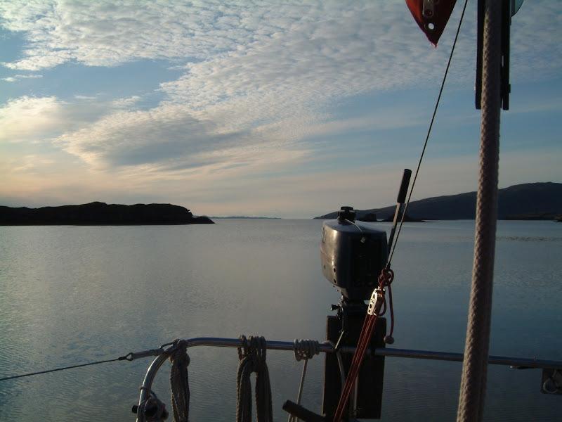Photo: Poll Domhain, Applecross, looking towards Rona in distance.