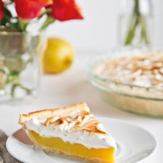 Vegan Lemon Meringue Pie.