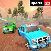 US Truck Drift & Racing: Crazy 4x4 Rally Racers