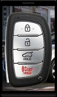 Car Key Remote - náhled