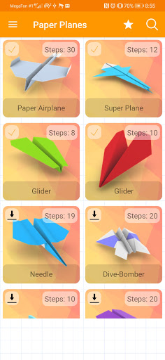Paper Planes, Airplanes - 3D Animated Instructions ss1