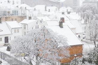 Photo: Snowfall in Stavanger