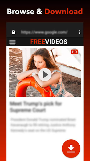 Free Video Downloader 1.0.8 screenshots 1