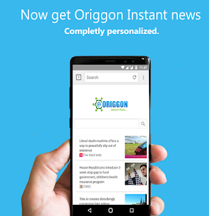 Origgon Official Browser & Search - náhled