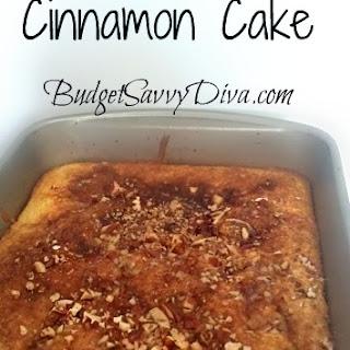 5-Minute Cinnamon Cake