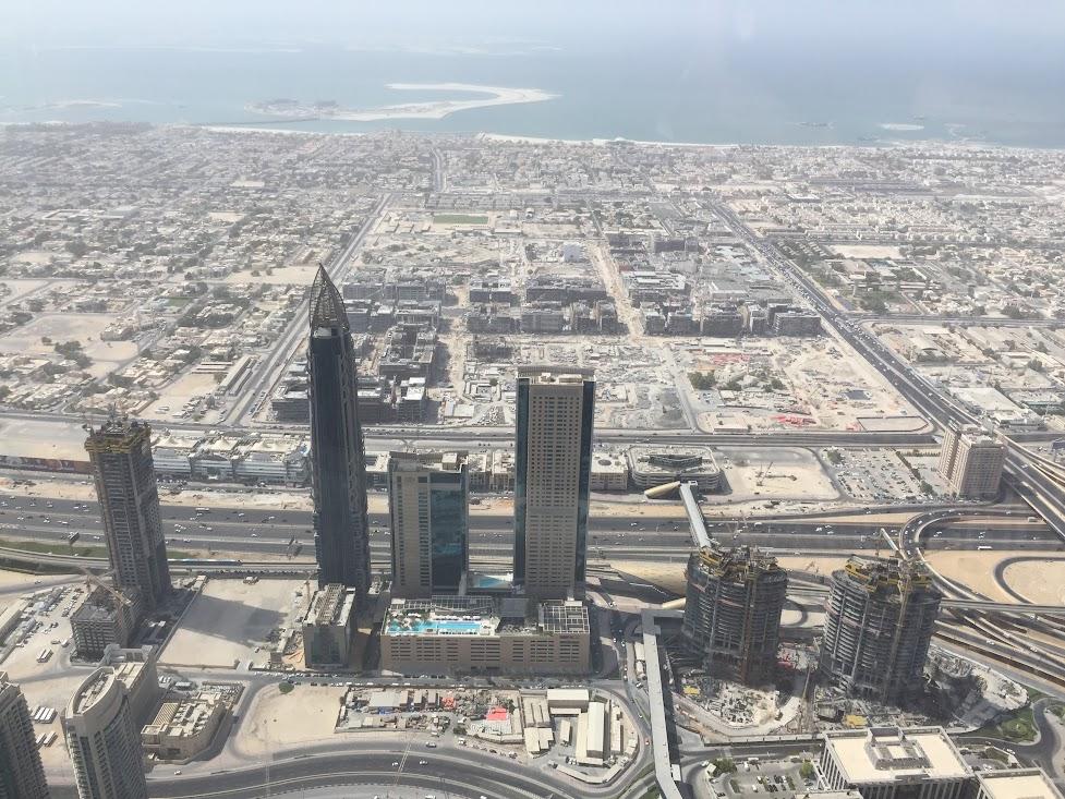 Гледката от 124 етаж