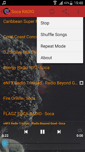 Soca Music Radio Cararibbean u00a92016 Duta screenshots 12