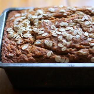 Banana Nut Oat Bread (No Flour or Sugar Added!)