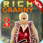 Scary Rich Granny 3 - Horror Games 2019 Icon