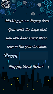 Happy New Year Wishes / Newyear Greetings 2018 - náhled