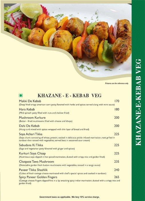 Pind Balluchi menu 5