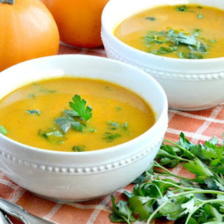 Easy Savory Pumpkin Soup