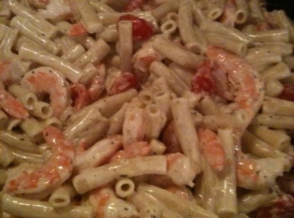 Creamy Tomato-basil Pasta With Shrimp Recipe
