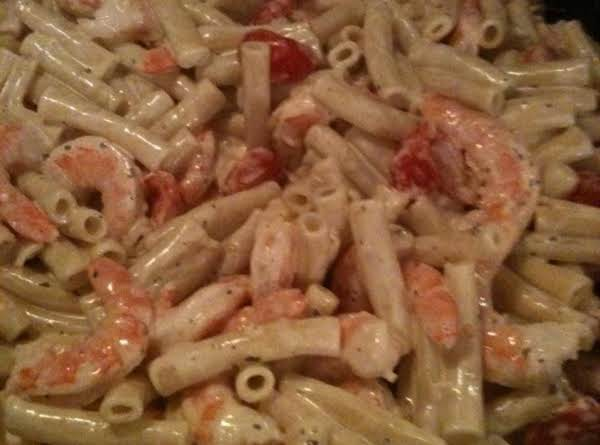 Creamy Tomato-basil Pasta With Shrimp