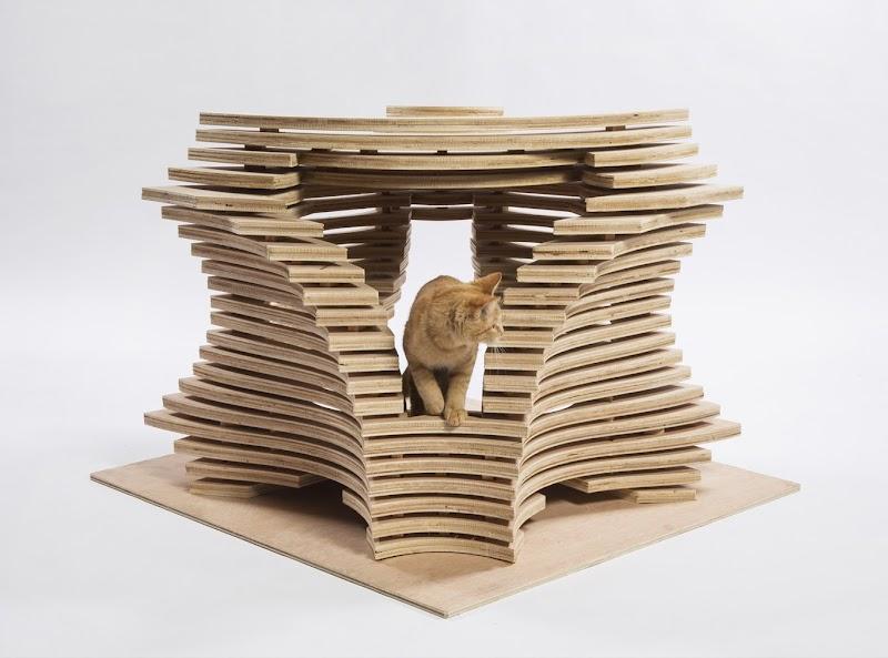 Arquitectos de LA diseñan asombrosas casas para gatos